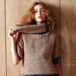 photo tricot modele tricot facile gilet femme 12