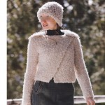 photo tricot modele tricot facile gilet femme 15