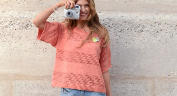 photo tricot modele tricot facile gilet femme 5