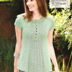photo tricot modele tricot facile gilet femme 6
