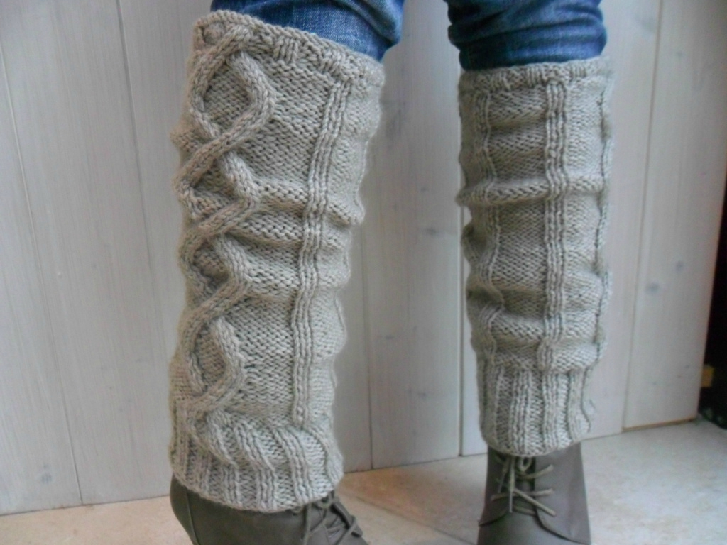 modele tricot jambiere femme