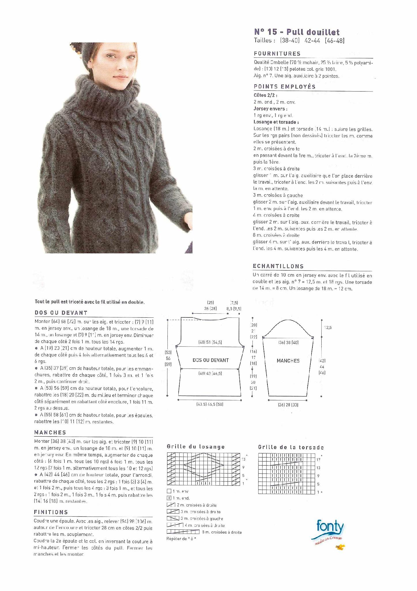 photo tricot modele tricot femme gratuit 16