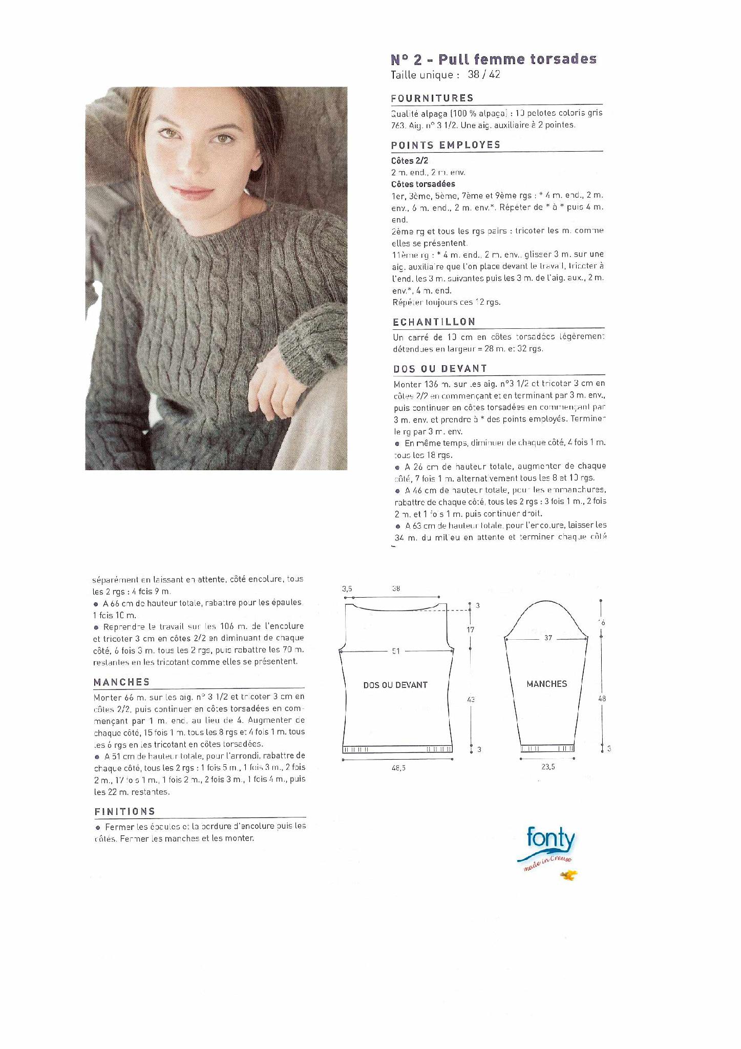 photo tricot modele tricot femme gratuit 9