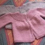 photo tricot modele tricot gilet bebe 18 mois 12