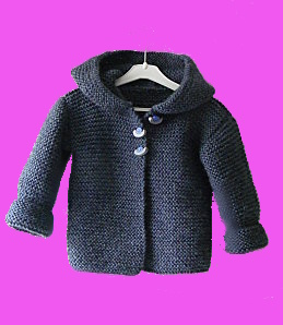 photo tricot modele tricot gilet bebe 18 mois 15