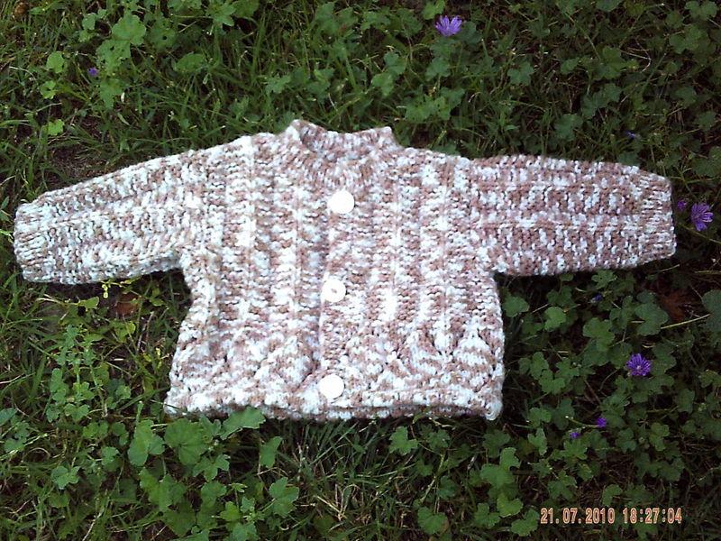 photo tricot modele tricot gilet bebe 18 mois 18