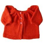 photo tricot modele tricot gilet bebe 18 mois 5