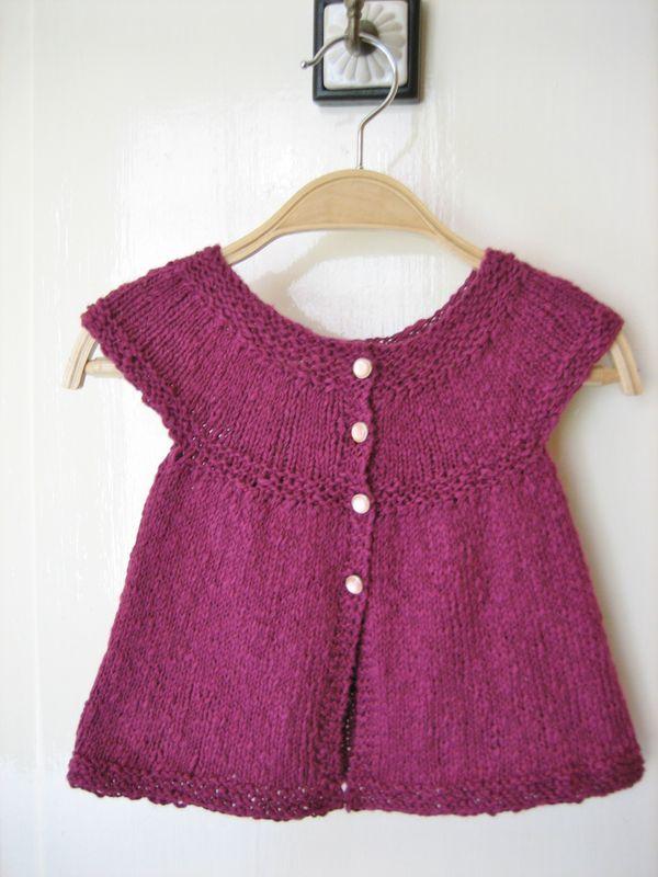 modele tricot gratuit 18 mois
