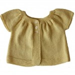 photo tricot modele tricot gilet bebe 18 mois 8