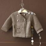 photo tricot modele tricot gilet bebe garcon 13