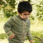 photo tricot modele tricot gilet bebe garcon 16
