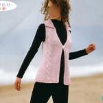 photo tricot modele tricot gilet femme sans manches 11