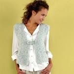 photo tricot modele tricot gilet femme sans manches 12