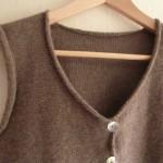 photo tricot modele tricot gilet femme sans manches 14