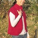 photo tricot modele tricot gilet femme sans manches 17