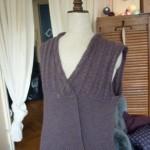 photo tricot modele tricot gilet femme sans manches 6