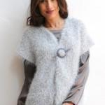 photo tricot modele tricot gilet femme sans manches 8