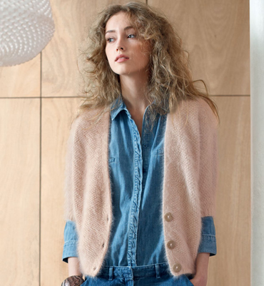 Photo Tricot Modele Tricot Gilet Fille 11
