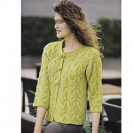 photo tricot modele tricot gilet fille 14