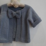 photo tricot modele tricot gilet fille 15