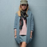 photo tricot modele tricot gilet fille 16