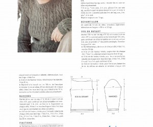photo tricot modele tricot gilet fille 18