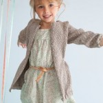 photo tricot modele tricot gilet fille 2