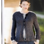 photo tricot modele tricot gilet fille 4