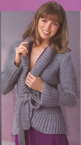 photo tricot modele tricot gilet fille 7