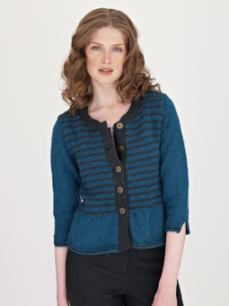 photo tricot modele tricot gilet fille 9