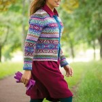 photo tricot modele tricot gilet jacquard 11