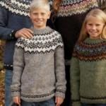 photo tricot modele tricot gilet jacquard 2