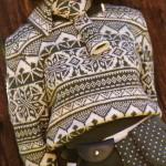 photo tricot modele tricot gilet jacquard 9
