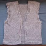 photo tricot modele tricot gilet sans manche 12