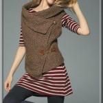 photo tricot modele tricot gilet sans manche 13