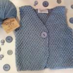 photo tricot modele tricot gilet sans manche 18