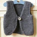 photo tricot modele tricot gilet sans manche 3