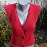 photo tricot modele tricot gilet sans manche 7