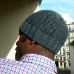 photo tricot modele tricot gratuit bonnet homme 4