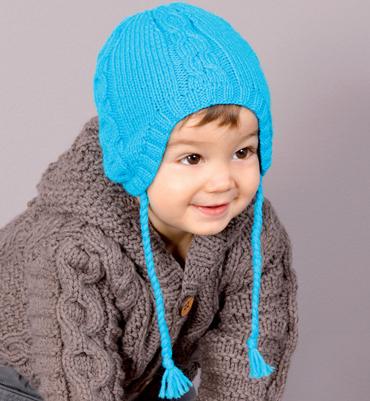 modele tricot bebe gratuit bonnet
