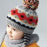 photo tricot modele tricot gratuit bonnet peruvien 18