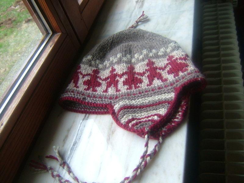 photo tricot modele tricot gratuit bonnet peruvien 9