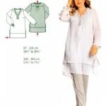 photo tricot modele tricot gratuit femme grande taille 9