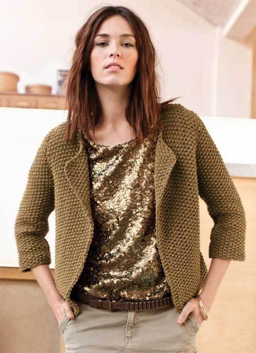 photo tricot modele tricot gratuit femme pull 11