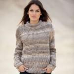 photo tricot modele tricot gratuit femme pull 14