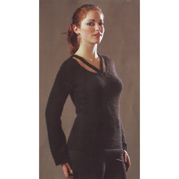 photo tricot modele tricot gratuit femme pull 5