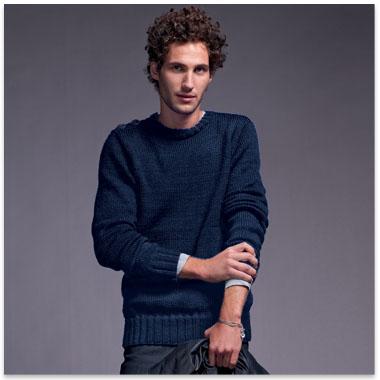 pull a tricoter modele gratuit homme