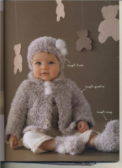 photo tricot modele tricot gratuit layette fille 15