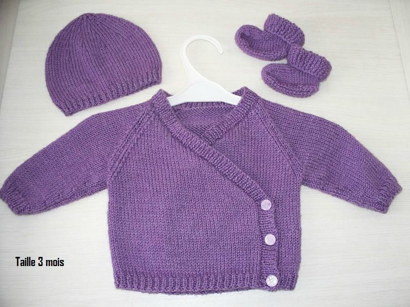 photo tricot modele tricot gratuit layette fille 6