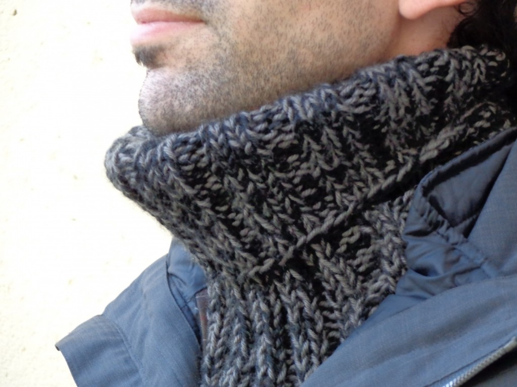 a9fad267e417 photo tricot modele tricot gratuit snood homme 11